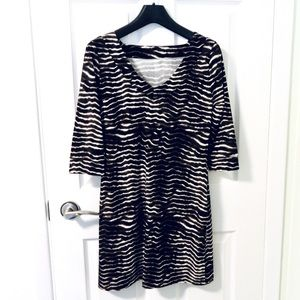 BCBG Animal Print Dress